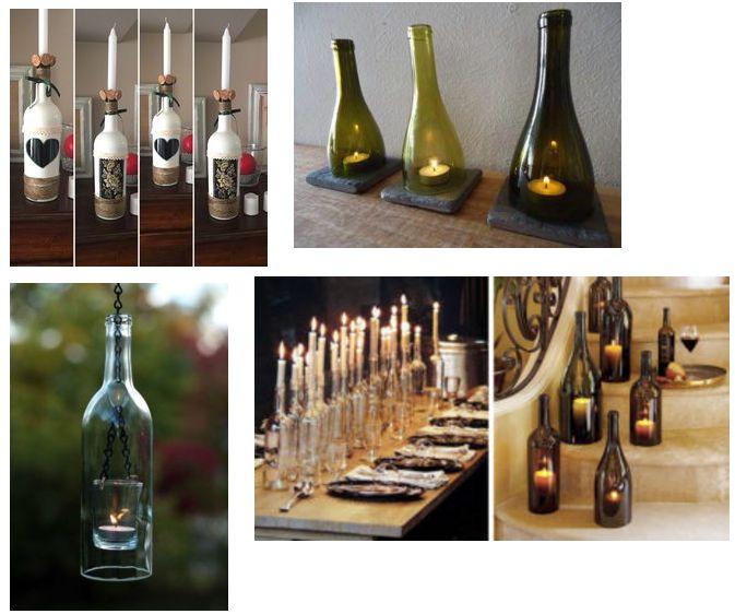 Oltre 25 fantastiche idee su lampade bottiglia su pinterest lampade in bottiglia di vino - Bottiglie vetro ikea ...