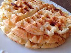 Waffle de Queijo Sem Gluten - SeEUfizVCfaz