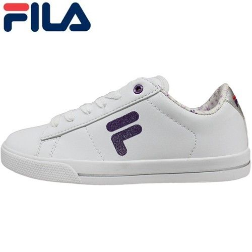 FILA Womens Simple Fashion White Casual Sports Footwear Sneakers - Blue Products- - TopBuy.com.au