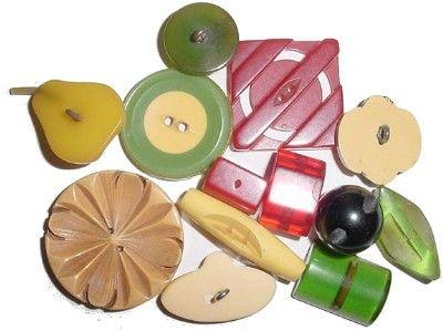 bakelite babysGood Ideas, Vintage Buttons, Buttons Buttons, Antiques Bakelite, Buttons Lady, Bakelite Buttons, Buttons Workshop, Baby Buttons, Buttons Bakelite