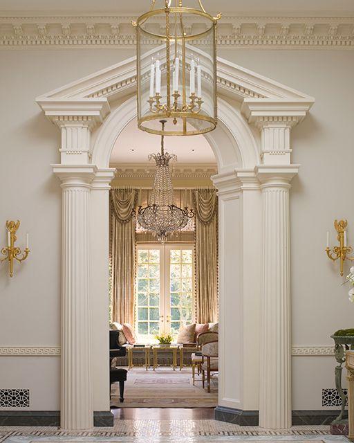 Andrew Skurman ~Greek Revival Architectural details
