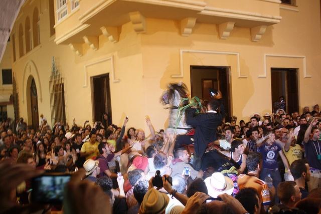 Menorca. Festes de Sant Joan.