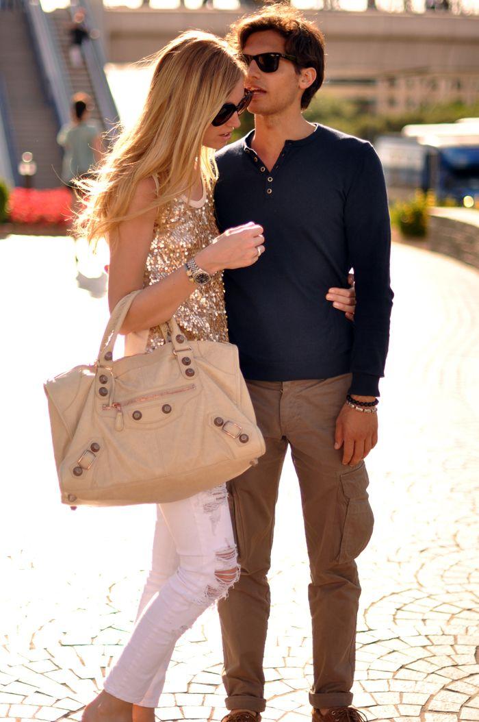That Balenciaga bag rocks!  #CelebrityStyleGuide