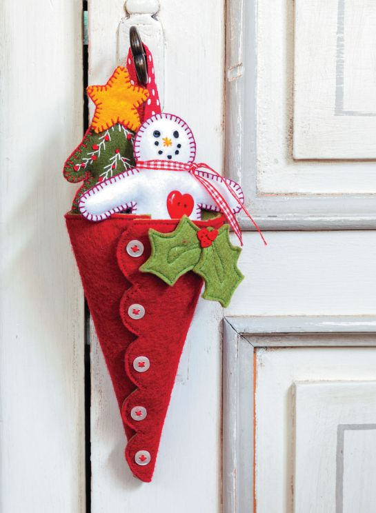 Christmas Crafts with Felt