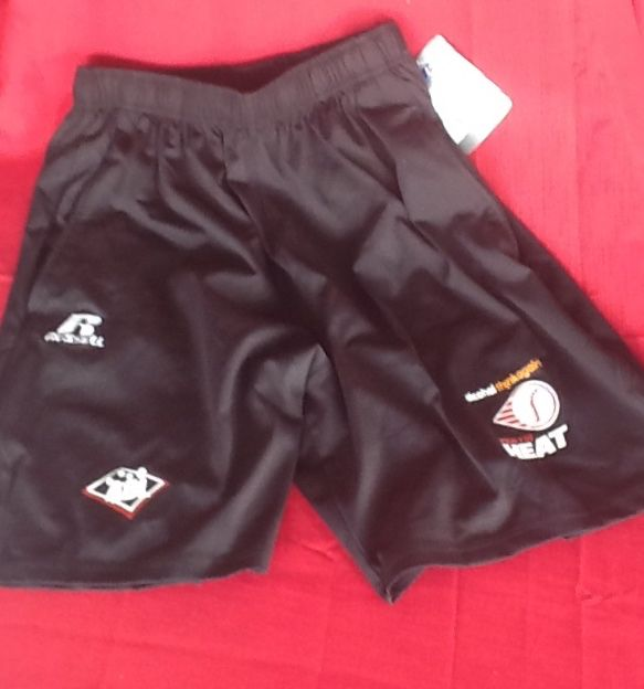 Perth Heat Russell Athletic Shorts $35 Can be purchased on game day or contact us at 08 6336 7950 or perthheatmerch@gmail.com