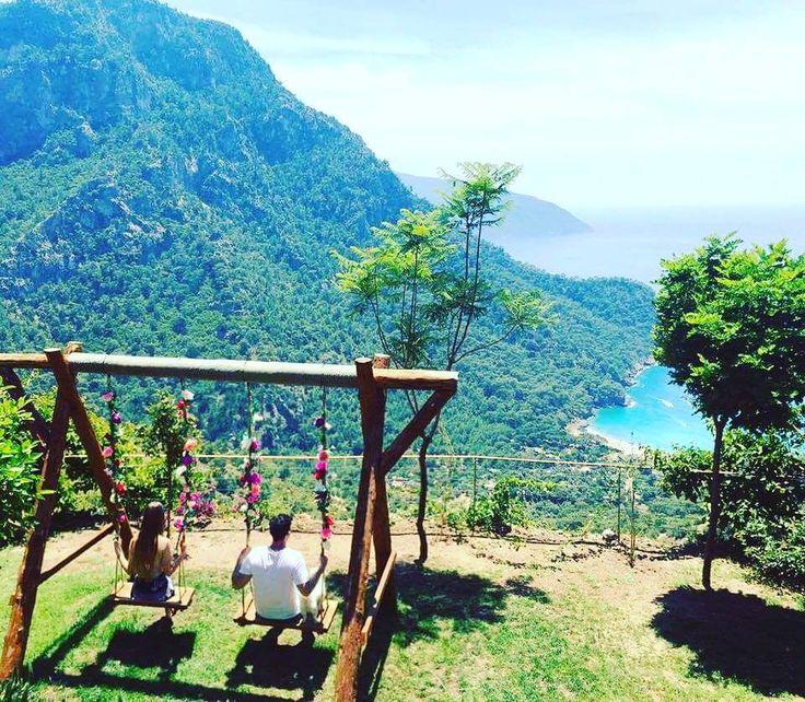 Paradise on earth - #Faralya and #Kabak beach near #Oludeniz #Turkey
