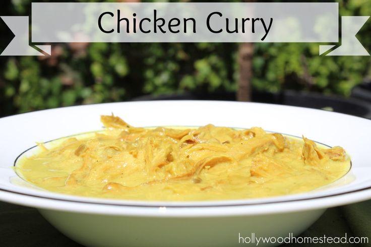 Chicken-Curry #paleo