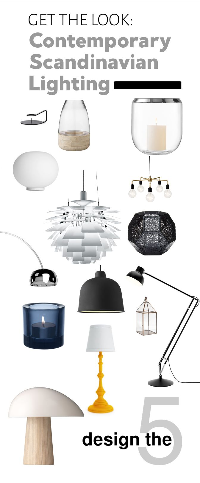 Get cozy with this guide to #scandi lighting in your home! #hyggehome