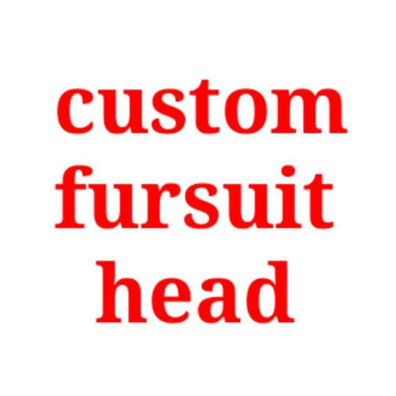 Custom fursuit head read description