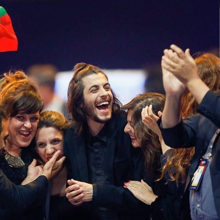 Parabéns Salvador Sobral! Parabéns Portugal! #eurovision2017 #eurovision #salvadorsobral #celebratediversity