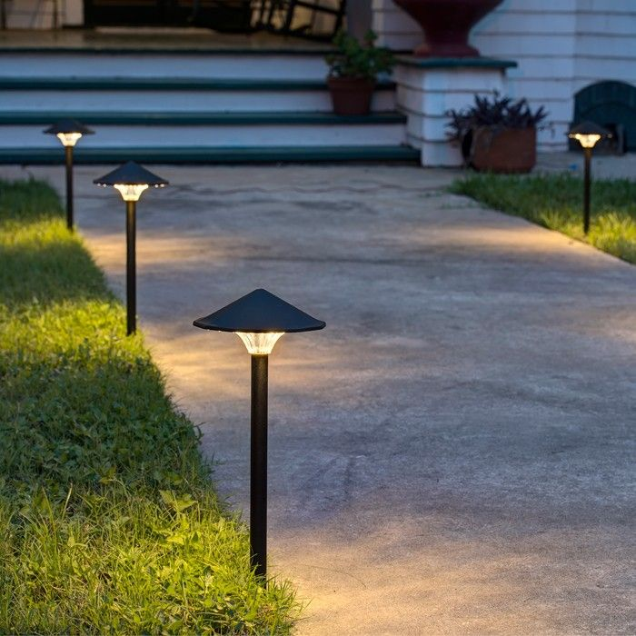 Patio path lights photo for Outside walkway lights