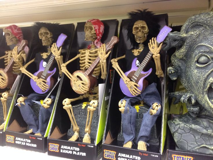 skeleton guitar and banjo players at kmart halloween decorations - Kmart Halloween Decorations