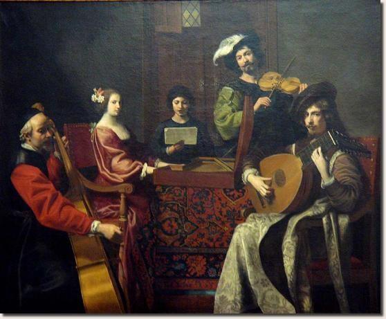 Nicolas Tournier - Concerto - Parigi Musée du Louvre