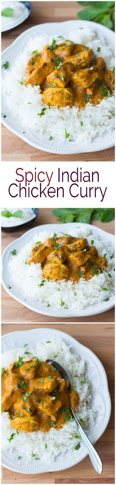 SPICY INDIAN CHICKEN CURRY | Cake And Food Recipe