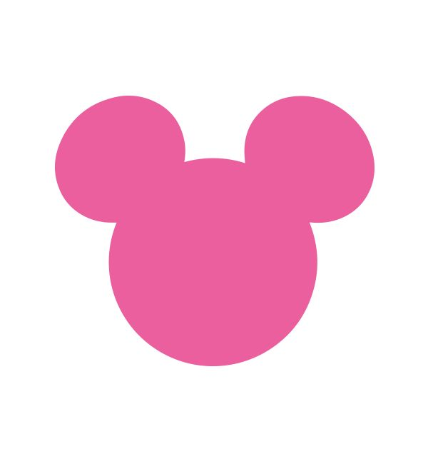 Free Mickey Mouse SVG File From Printablepartydecorcom Cameo