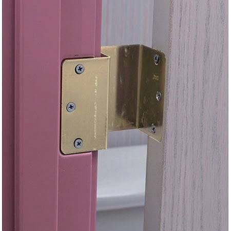 Offset hinges offer extra clearance at doors because the ...