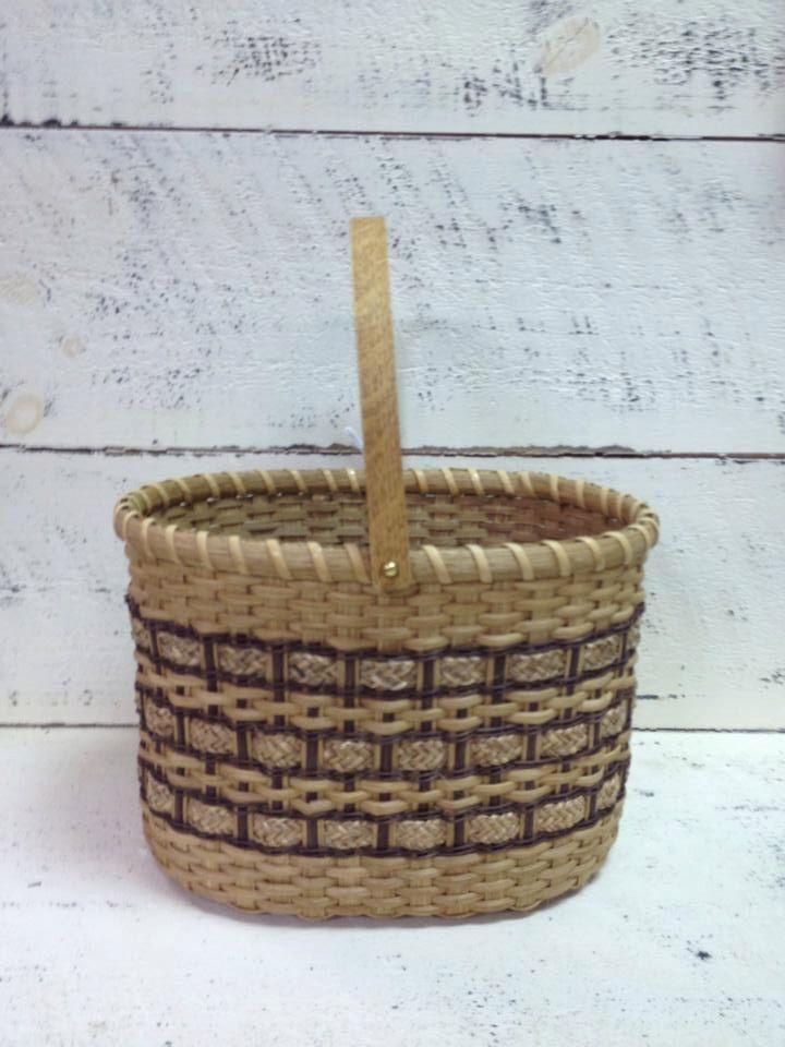 Basket - Handwoven basket - Basket Collector - Gift - Oval basket - Large Basket - Christmas Gift - Gift for Her - Gift for Female by BeaDazzledandBeyond on Etsy https://www.etsy.com/listing/213547356/basket-handwoven-basket-basket-collector