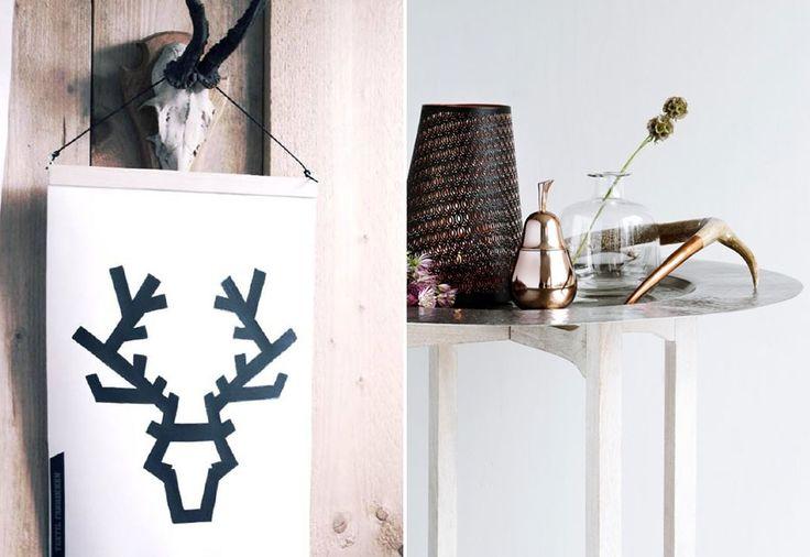 25 beste idee n over gewei decoraties op pinterest herten gewei decoraties gewei kunst en - Balk decoratie ...