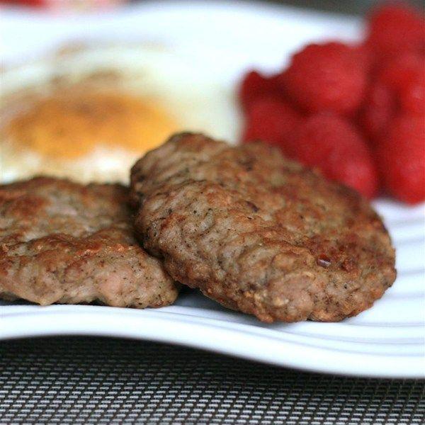 Homemade Turkey Breakfast Sausage |