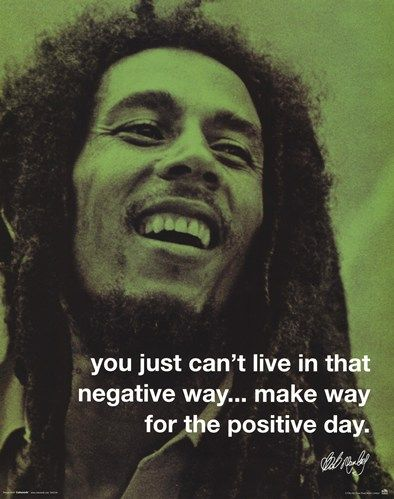 bob marley day   Bob Marley - Positive Day - Buy Cheap Inspirational Posters and Art ...