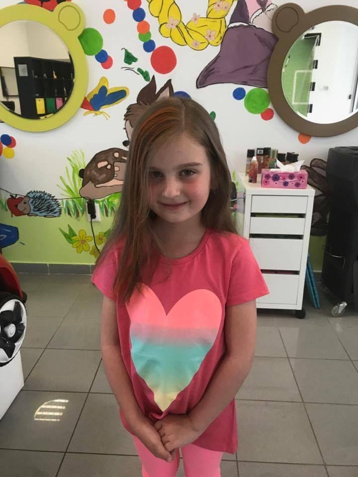 Malá princezná #new #haircut #novyuces #detskekadernictvo #trnava #bratislava