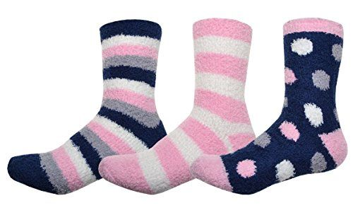 From 6.95 3 Pairs Of Soft & Warm Ladies Fluffy Socks - Cosy Socks