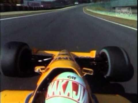 ,,Satoru Nakajima,,(Camel Lotus 100T Honda)onboard camera - YouTube