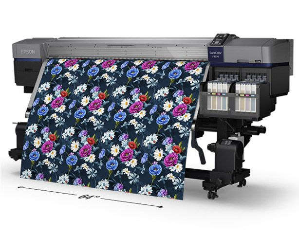 Digital Fabric Printing For Fashion Textiles Epson Us Digital