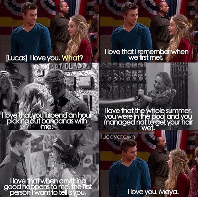 Forgot which movie this is from but I love it with lucaya