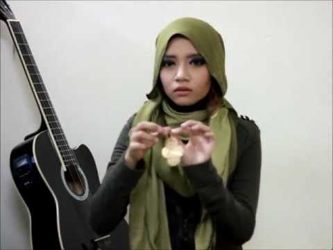 pashmina and earrings tutorial - YouTube