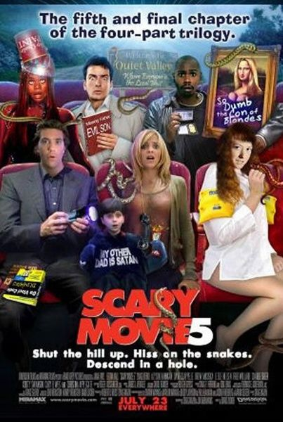 Scary Movie 5-- (from BLURAY) UV CODE ONLY