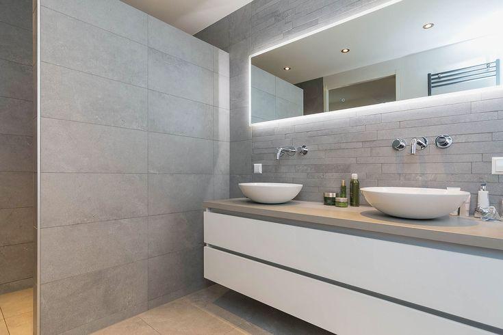 moderne luxe badkamer