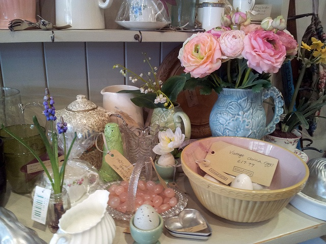 Spring display at Sally Bourne (Muswell Hill)