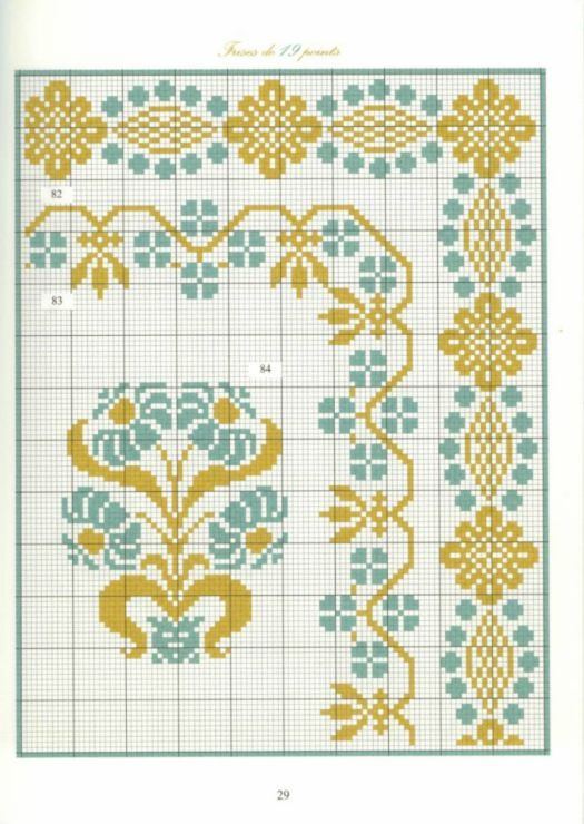 Gallery.ru / Фото #26 - Bordures et Frises Fleuries - Mongia