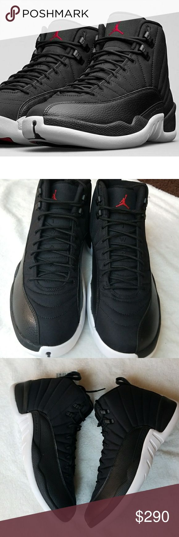 NWOB Air Jordan 12s Black Nylon (Neoprene) NWOB Air Jordan 12s Black Nylon (Neoprene) 100% Authentic. 100% DeadStock  Reasonable Offers Only! Comes with no box Size 13  Want to save more? Bundle and save on shipping. 🌟 Smoke free home 🌟 Reasonable Offers Accepted  🌟 All items are recorded in condition listed prior to shipping Air Jordan Shoes Sneakers