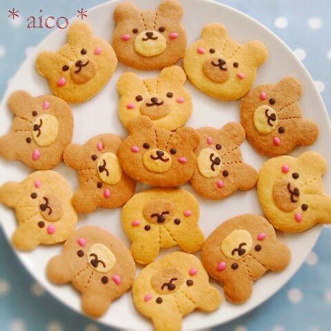 Bear cookies♡