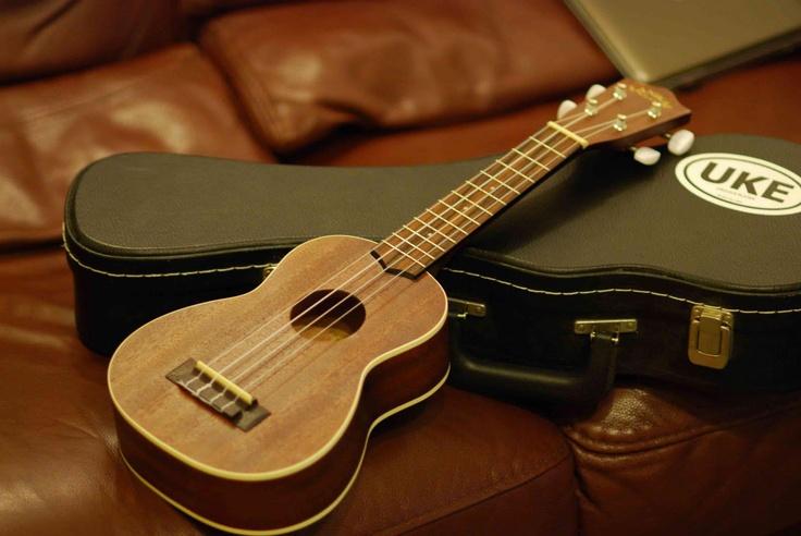 Lanikai ukulele and case