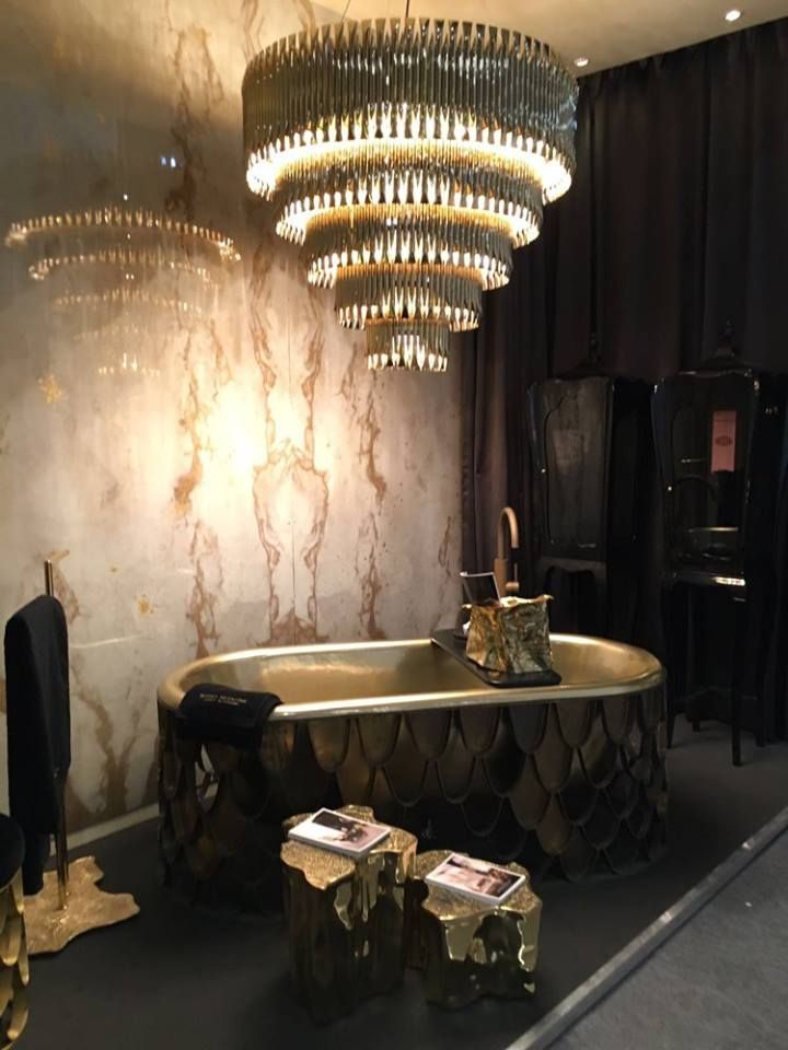 Luxury Bathroom Design with Maison Valentina #maisonetobjet2016 paris #luxurydesign luxury brand #moderndesign interior design . Visit www.memoir.pt