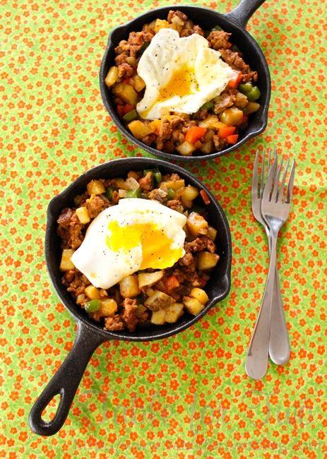 Cowboy Hash Skillet. Looks like a yummy breakfast to me!