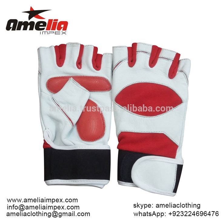 Custom made The Best weight lifting gloves with Gell padding