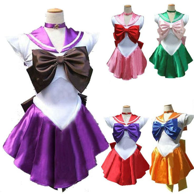 Sailor Moon Venus Uranus Uniform Cosplay Costume