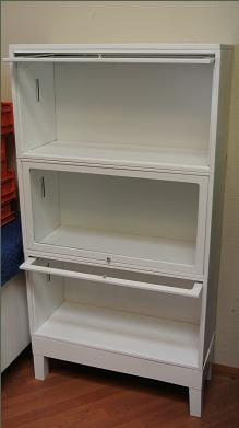 Refurbished Steel Office Furniture Barrister Bookcase