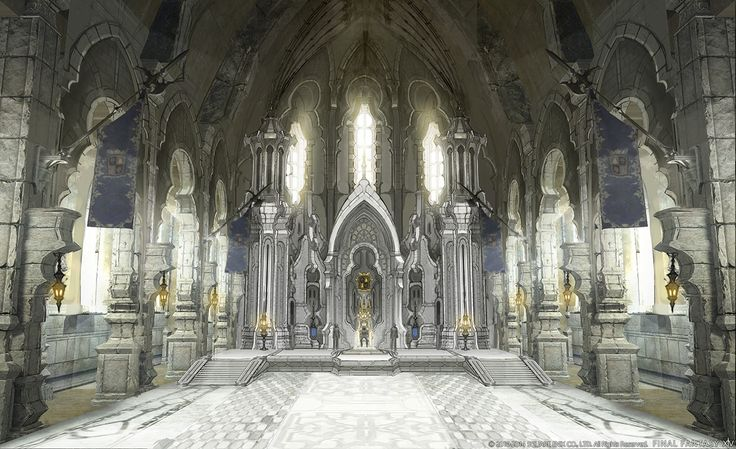 Final Fantasy XIV: Heavensward - Archbishop Throne Room