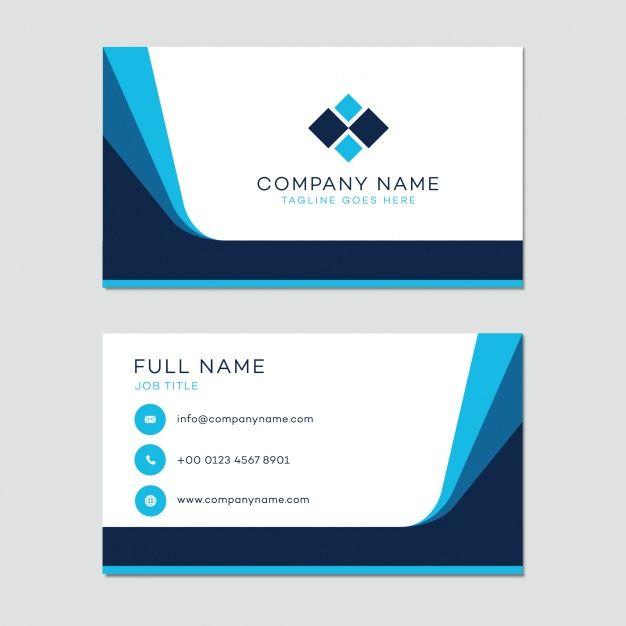 Plantilla de tarjeta de presentación Vector Gratis