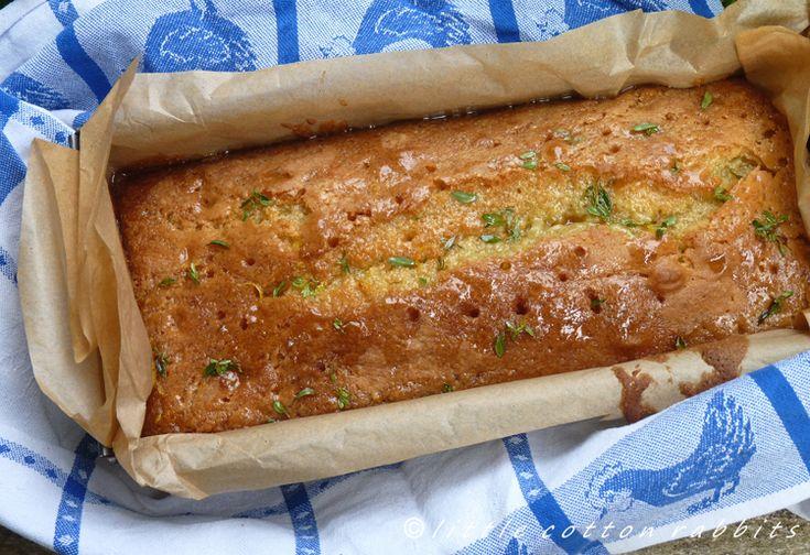 Moist Christmas Cake Recipe Jamie Oliver: Lemon Thyme Cake