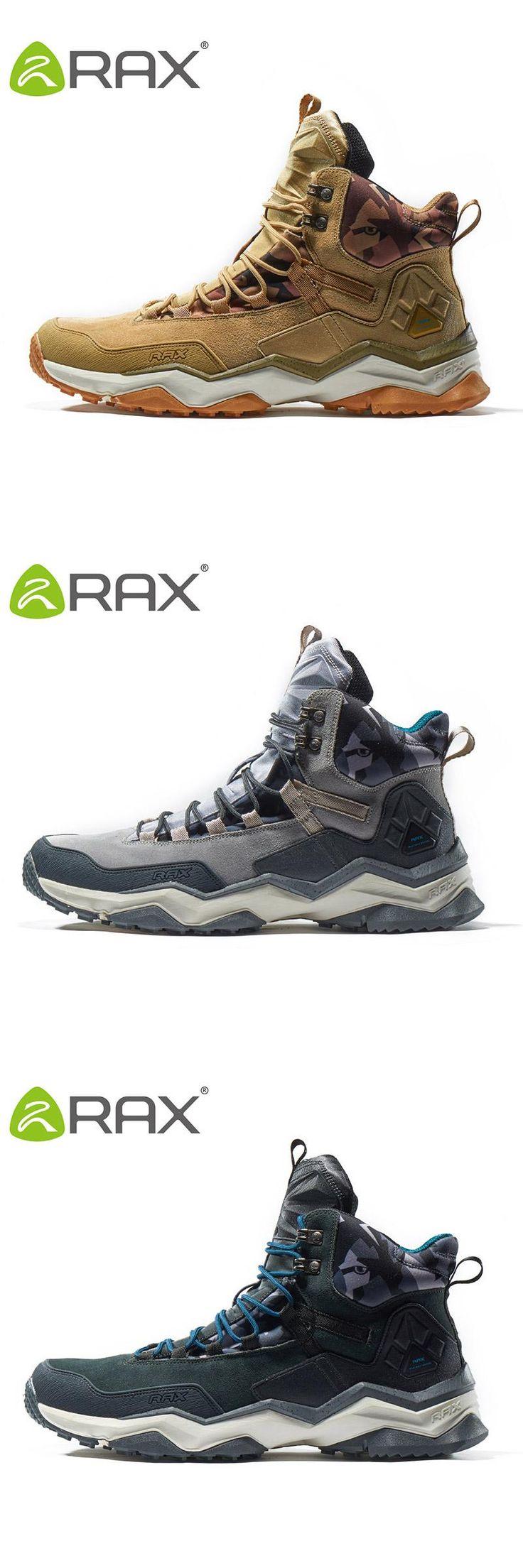 [Visit to Buy] RAX 2017 Waterproof Hiking Shoes For Men Winter Hiking Boots Men Outdoor Boots Climbing Walking Mountaineering Trekking Shoes #Advertisement