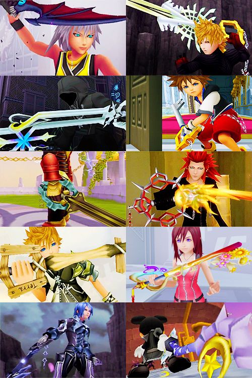 The Keyblade is said to hold phenomenal power.One legend says its wielder saved the world, while another says that he wrought chaos and ruin upon it.