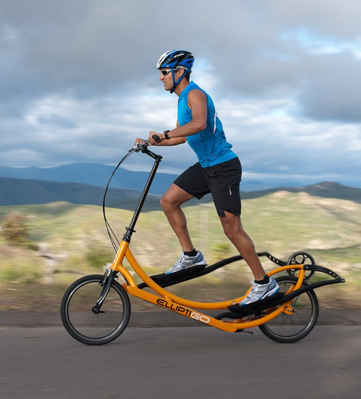 The ElliptiGO Elliptical Bicycle: The Best Low Impact Exercise Equipment For Outdoor Use