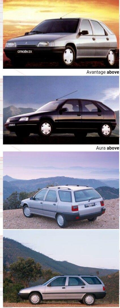 1991 - 1997 Citroën ZX collection - Reflex, Volcane, Advantage, Aura and ASC Drophead.