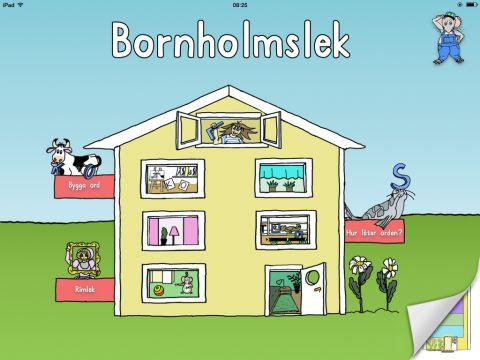 Bornholmslek, träna fonologisk medvetenhet och skrivning